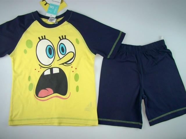 Pijamale copii Sponge Bob (Masura 116 (5-6 ani))