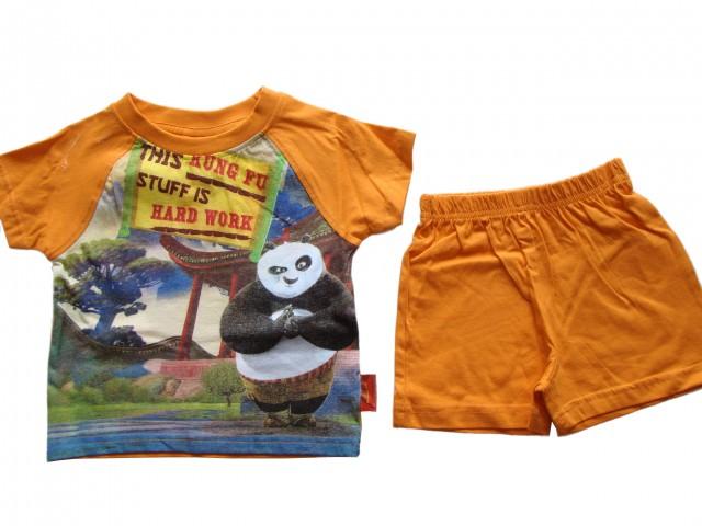 Pijamale din bumbac Kung-Fu Panda (Masura 110 (4-5 ani))