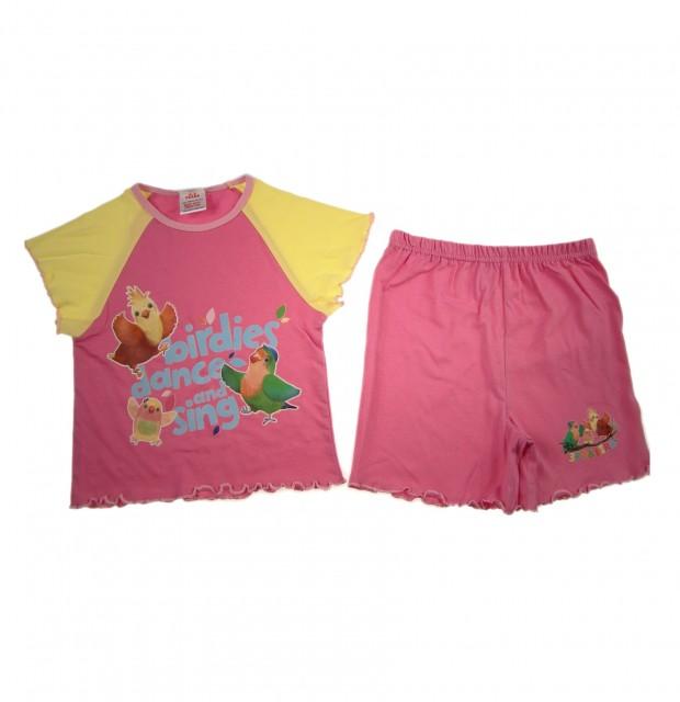 Pijamale din bumbac fetite Little Birdie (Masura 98 (2-3 ani))