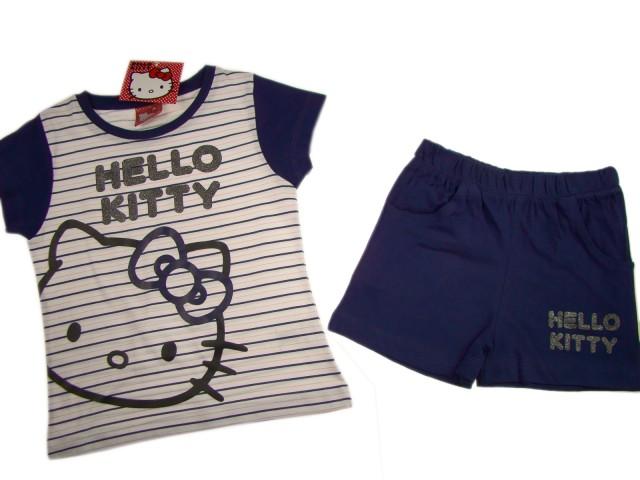 Pijamale fete Hello Kitty (Masura 98 (2-3 ani))