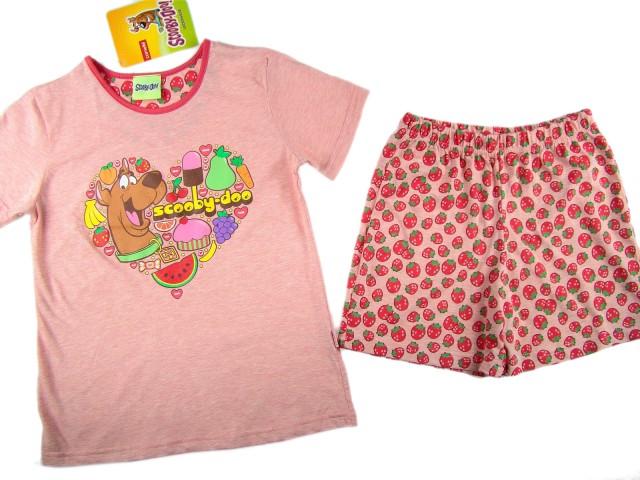 Pijamale fete Scooby Doo (Masura 104 (3-4 ani))