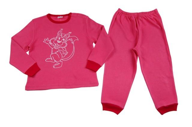 Pijamale fetite Forest Party (Masura 128 (7-8 ani))