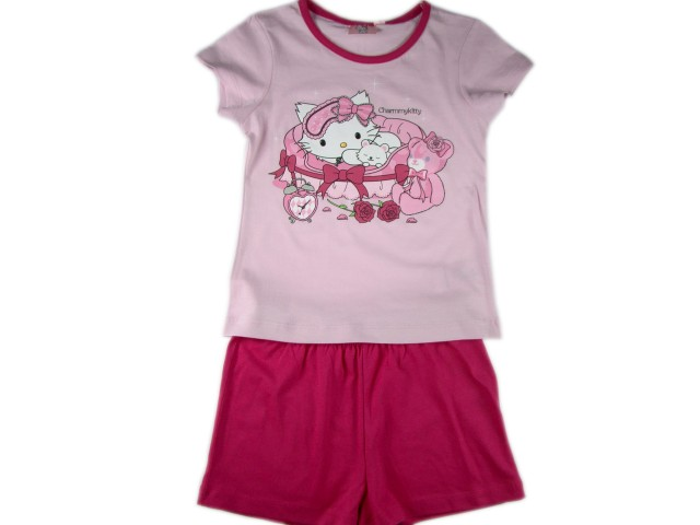 Pijamale fetite Hello Kitty (Masura 116 (5-6 ani))