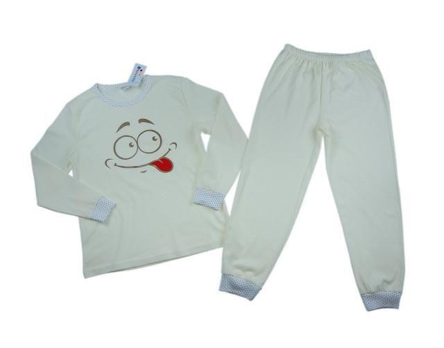 Pijamale fetite Smiley (Masura 92 (1.5-2 ani))