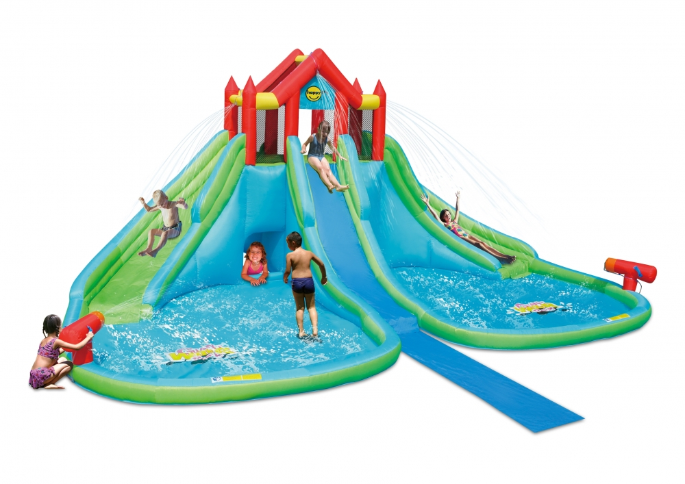 Saltea gonflabila Happy Hop Gigant Water Park