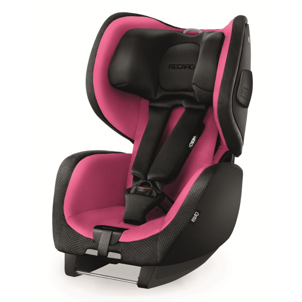 Scaun Auto Copii fara Isofix Optia Pink