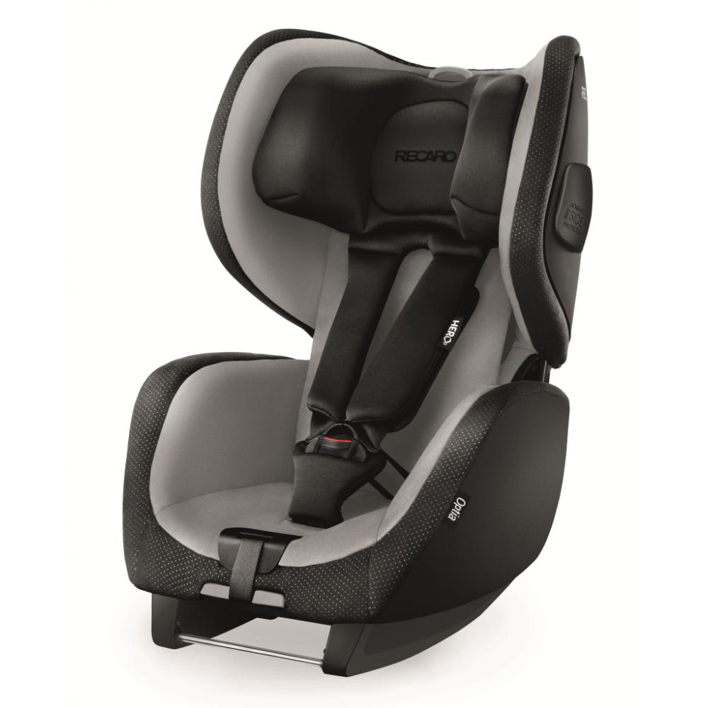 Scaun Auto pentru Copii fara Isofix Optia Graphite