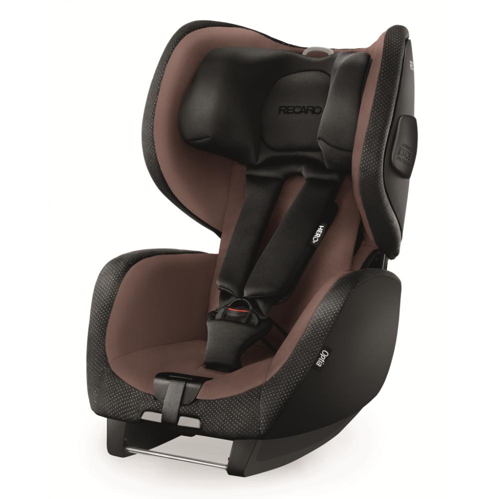 Scaun Auto pentru Copii fara Isofix Optia Mocca