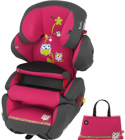 Scaun auto Kiddy GuardianFix Pro 2 Owl Family