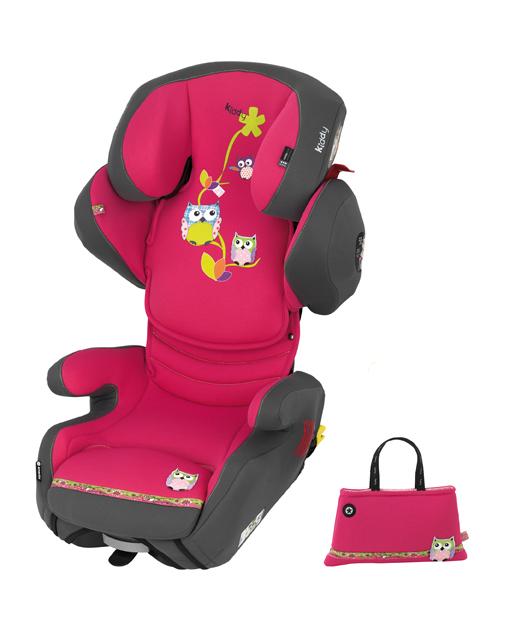 Scaun auto cu Isofix Kiddy SmartFix Owl Family