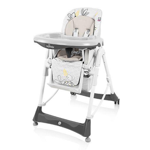 Scaun de masa Baby Design Bambi Grey colectia 2016