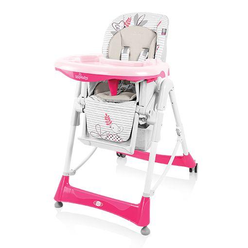 Scaun de masa Baby Design Bambi Pink colectia 2016