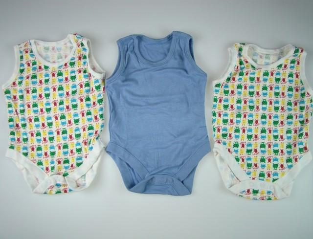 Set 3 bodyuri copii Alien (Masura 7480 (912 luni))