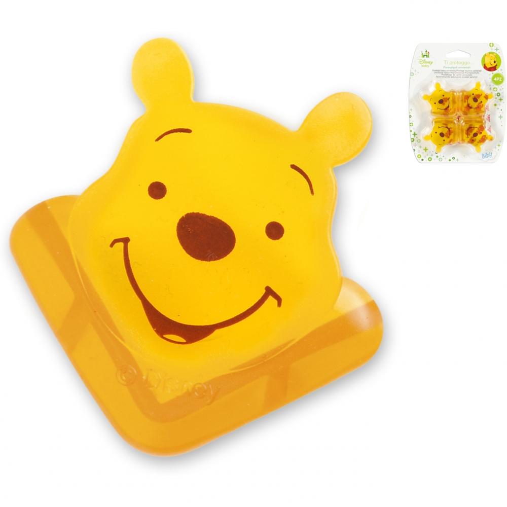 Set din silicon pentru colturi Winnie the Pooh Lulabi 8138600