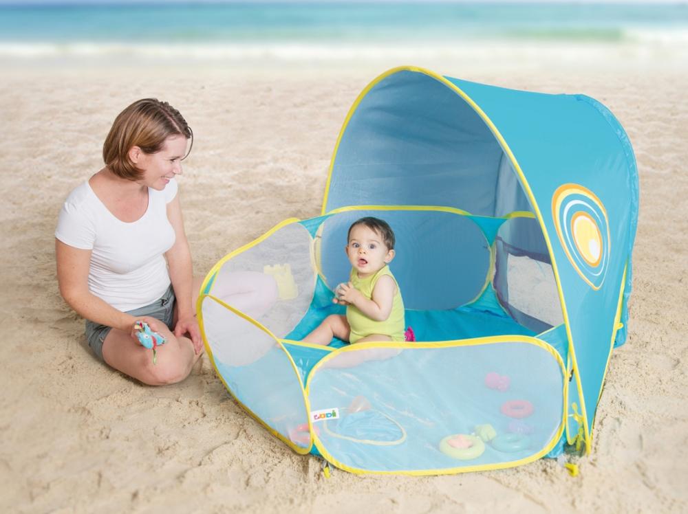 Spatiu joaca plaja acoperit protectie UV50