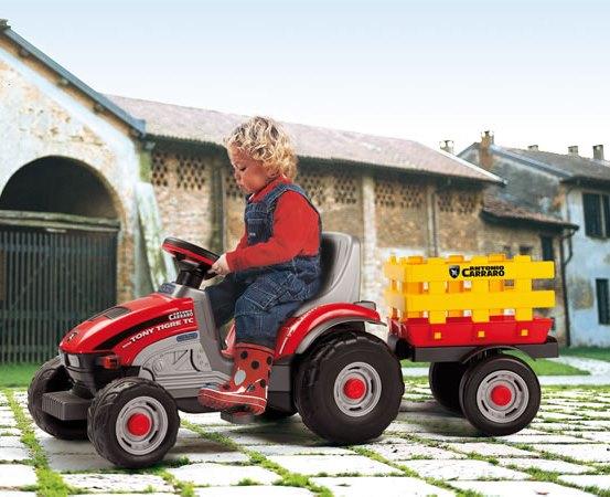 Tractor cu pedale Mini Tony Tigre Peg Perego