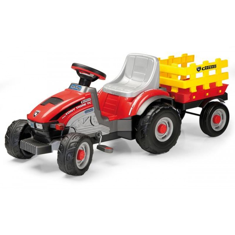 Tractor cu pedale Mini Tony Tigre Peg Perego - 4