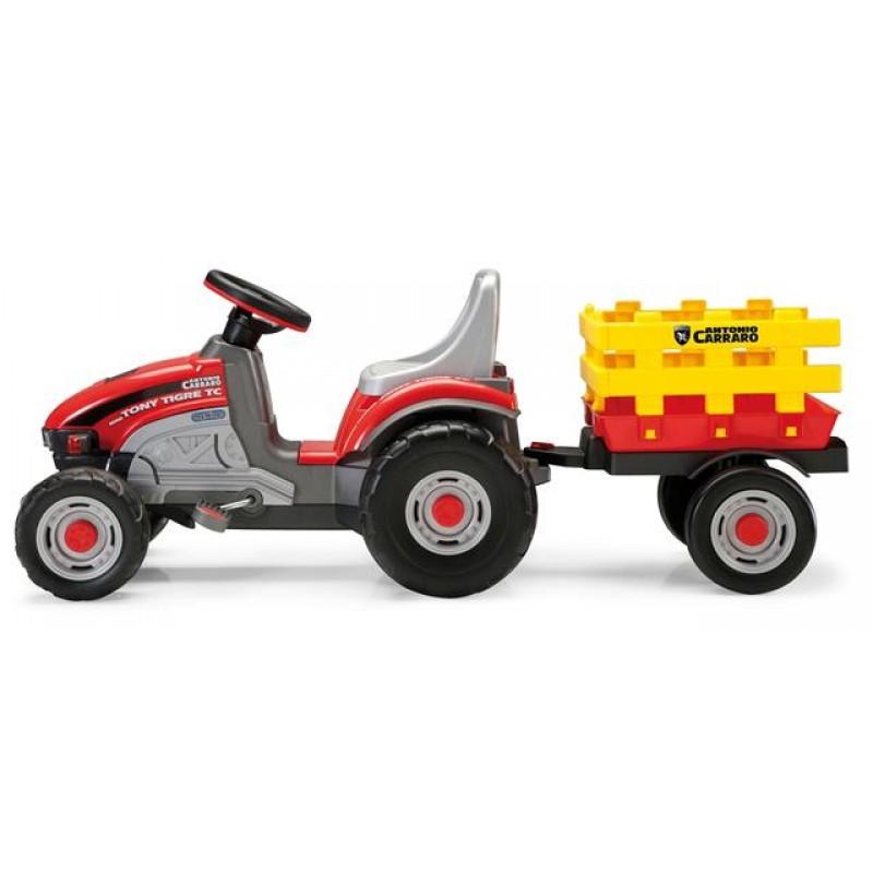 Tractor cu pedale Mini Tony Tigre Peg Perego - 1