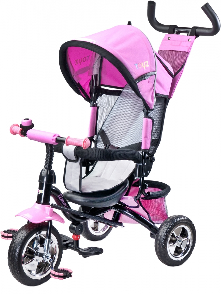 Tricicleta pentru copii cu scaun reversibil Toyz Timmy Pink imagine