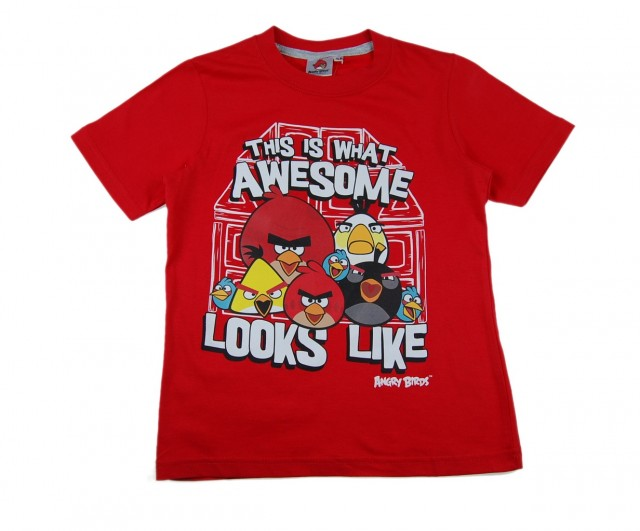 Tricou Angry Birds (Masura 140 (9-10 ani))
