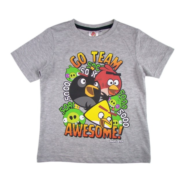 Tricou baiat Angry Birds (Masura 140 (9-10 ani))