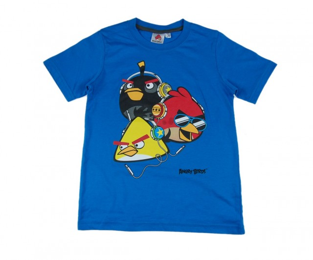 Tricou copii Angry Birds (Masura 128 (7-8 ani))