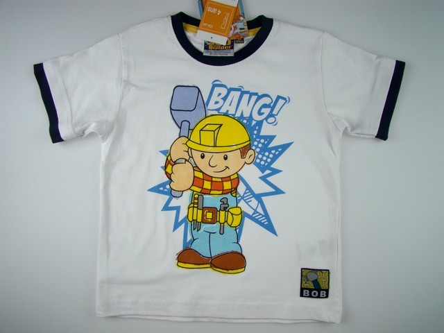 Tricou copii Bob Constructorul (Masura 110 (4-5 ani))