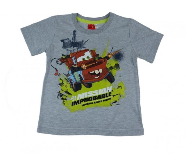 Tricou copii Cars Bucsa (Masura 122 (6-7 ani))