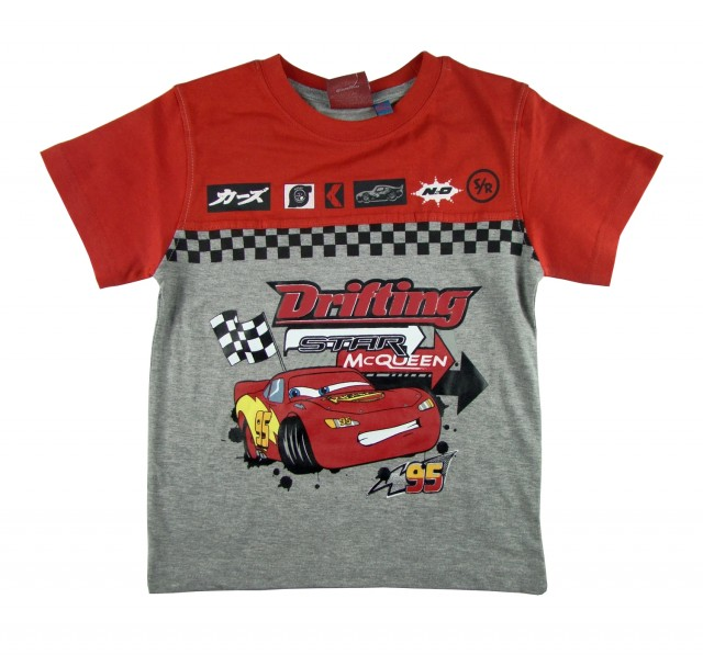 Tricou copii Cars Fulger McQueen (Masura 116 (5-6 ani))