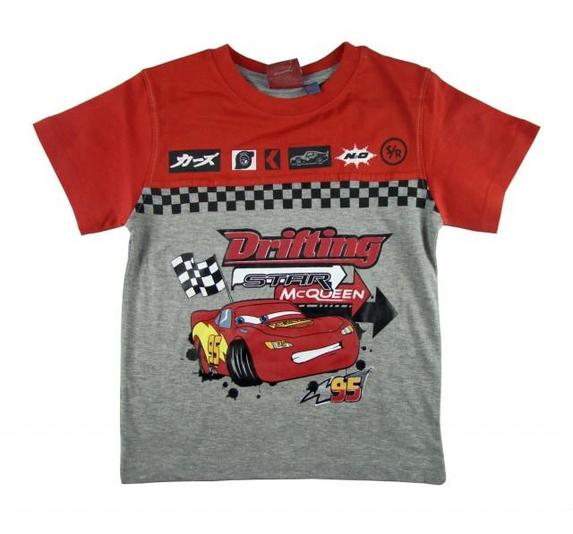 Tricou copii Cars Fulger McQueen (Masura 128 (7-8 ani))