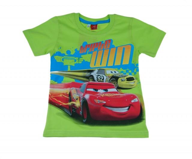 Tricou copii Fulger McQueen (Masura 116 (5-6 ani))