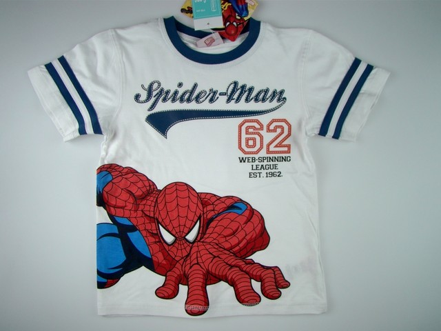 Tricou copii Spiderman (Masura 110 (4-5 ani))