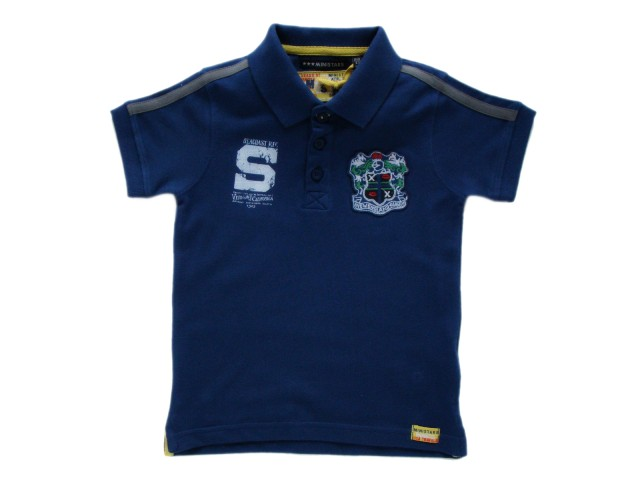 Tricou cu guler polo baieti (Masura 92 (1.5-2 ani))