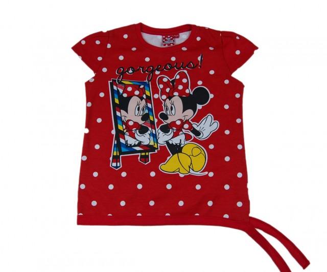 Tricou fete Minnie Mouse (Masura 128134 (89 ani))