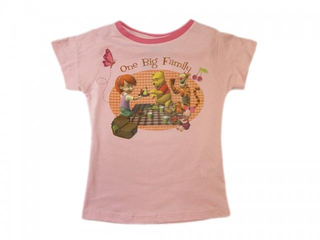Tricou fete Winnie Big Family (Masura 110 (4-5 ani))