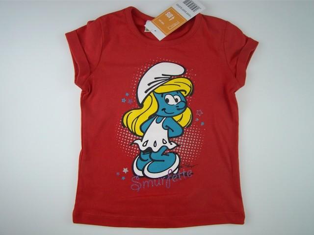 Tricou fetite Strumfii (Masura 104 (3-4 ani))