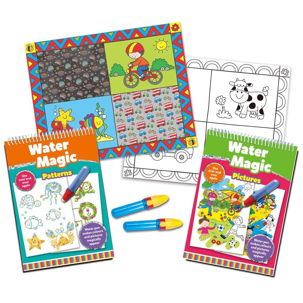 Water Magic Set carti de colorat CADOU (2 buc.)