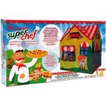 Cort pentru copii de joaca pentru interior sau exterior Casuta Chef Pizza