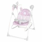 Leagan pentru bebelusi 3 in 1 Baby Swing Pink