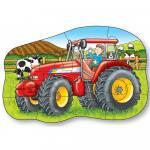 Puzzel fata/verso - Tractor