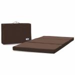 Saltea pliabila cu geanta de transport Chocolate