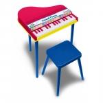 Set pian 16 note cu scaunel Bontempi