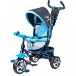Tricicleta pentru copii cu scaun reversibil Toyz Timmy Blue