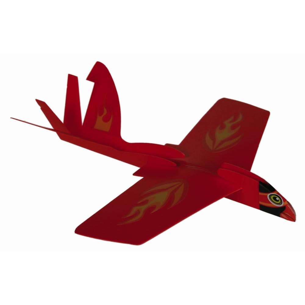 Avion din plastic cu efect de bumerang - 22x21cm, Radar OT611904