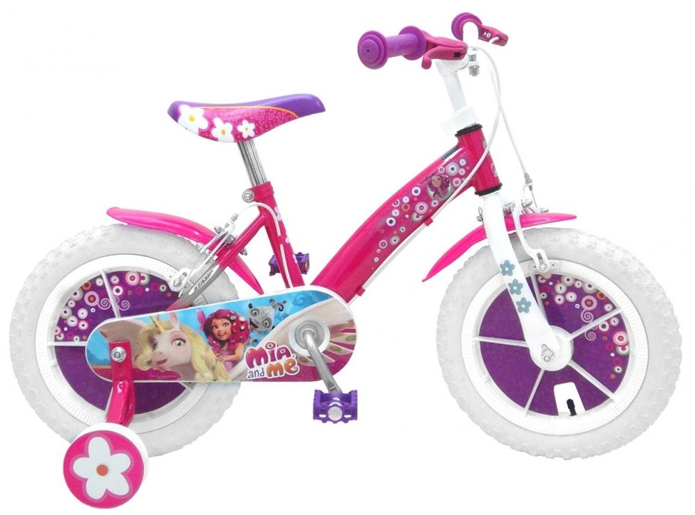 Bicicleta pentru fetite Mia Me 14 inch