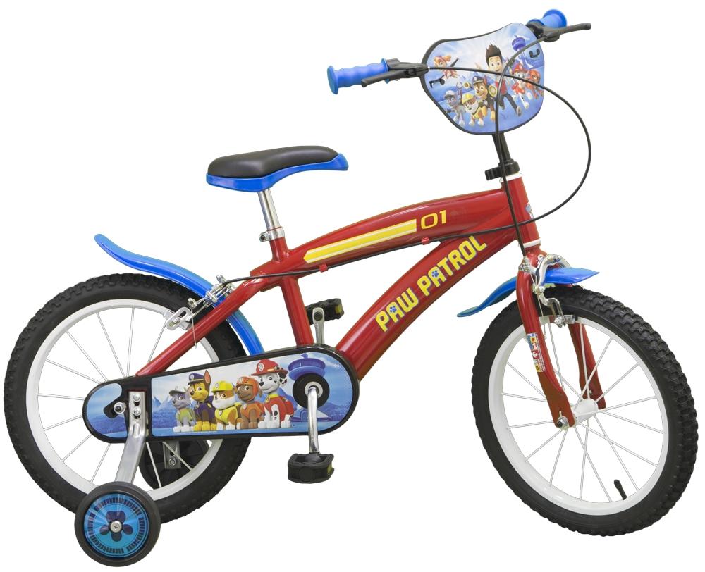 Bicicleta pentru baieti Paw Patrol 16 inch