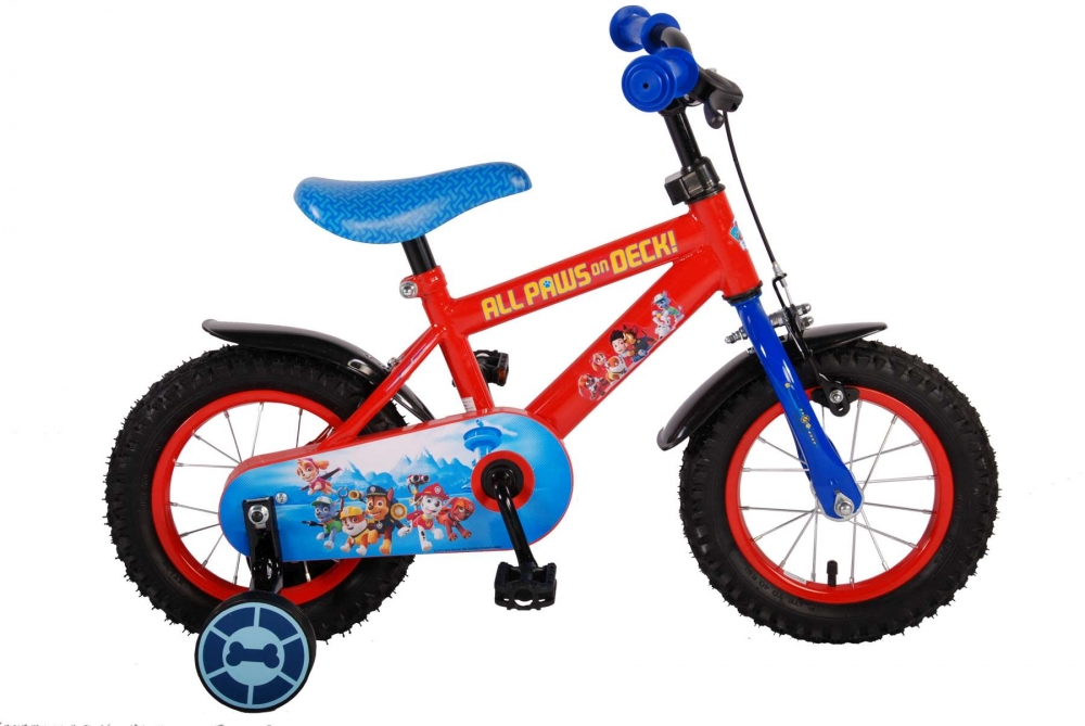 Bicicleta Volare Paw Patrol 12 imagine