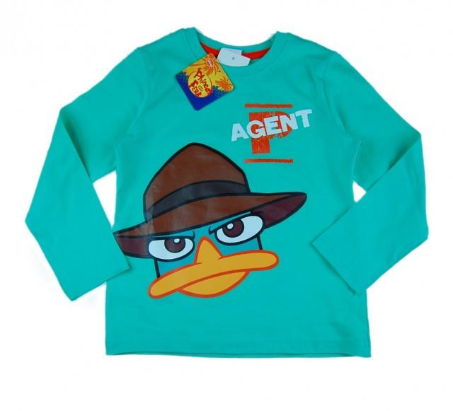Bluza baieti Disney Phineas (Masura 116 (5-6 ani))