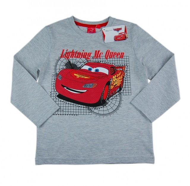 Bluza baieti Fulger McQueen material bumbac (Masura 104 (3-4 ani))