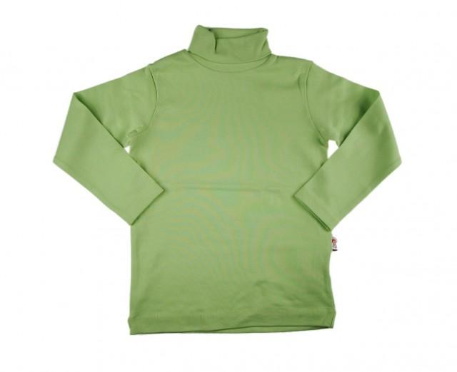 Bluza pe gat - culoare vernil (Masura 104 (3-4 ani))